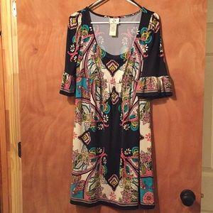 Super cute dress knee length dress